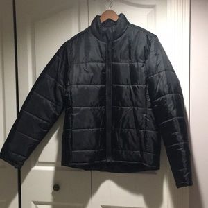 Timberland Men's Quilted black Jacket in size M
